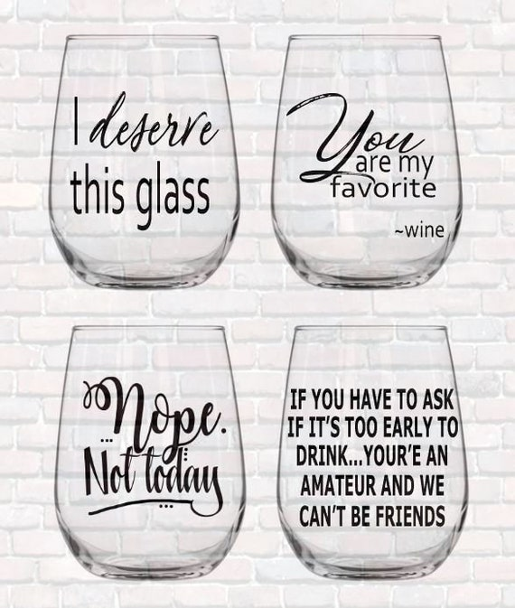 Wine Svg Quotes Bundle 18 Funny Wine Glass Sayings Commercial Use Ok