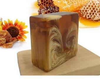 Natural organic honey milk Soap bar with GLUTATHIONE Whitening Skin
