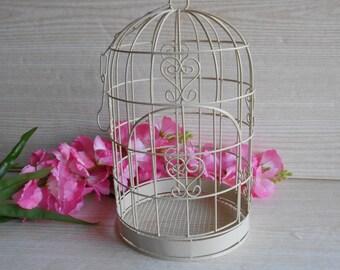 Rustic Square Metal Birdcage Set of 4 DT1001 Wedding Decor Centrepiece Garden