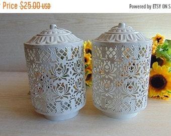 20%ON SALE Set of 2 Vintage Rustic Lanterns, Rustic Wedding Lighting, Moroccan Lantern, Wedding Lantern, Candle Holder,Wedding Centerpiece