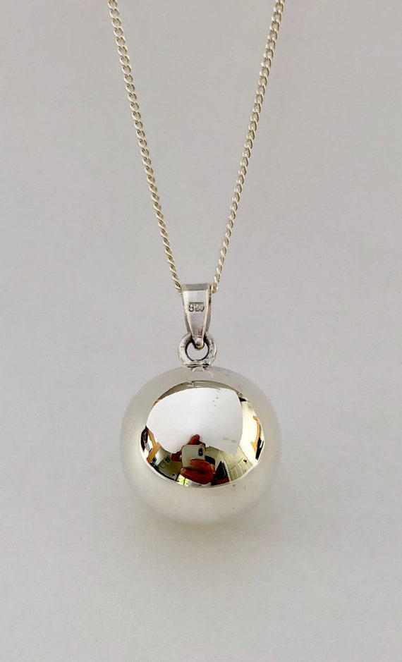 925 Sterling Silver Polished Onyx Charm Pendant 30mm x 16mm
