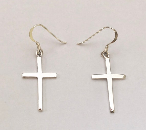 Beautiful Sterling silver 925 sterling Sterling Silver Latin Cross Charm