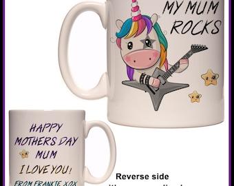 Mumicorn unicorn fun mug for mum Mummy Mama coffee gift awesome mum