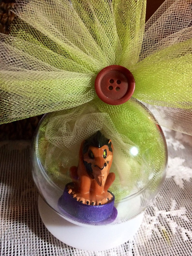 The Lion King Simba Available with personalized tag Hyena Ed and Hyena Banzai Scar