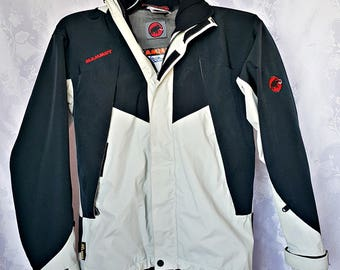 Vintage Authentic Mammut Zipped Waterproof Windproof Gore Tex Men's Jacket Size:XS