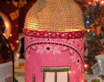 John Deer accent wine bottle lighting