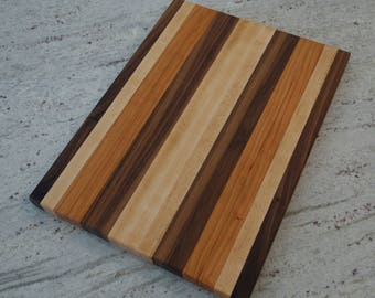 Maple | Walnut | Cherry Cutting Board, Handmade, Made to Order