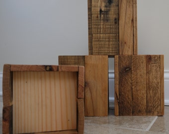 Reclaimed Wood Furniture / Bed Risers, Handmade, Made to Order, Pallet Wood