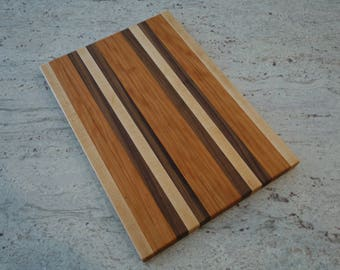 Cherry | Walnut | Maple Cutting Board, Handmade, Made to Order