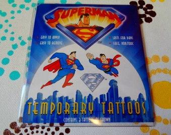 Superman Tattoo Etsy