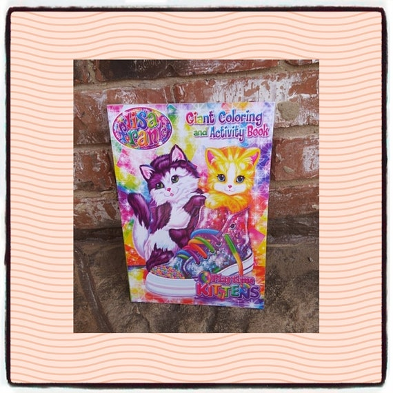- Lisa Frank Color Book Lisa Frank Coloring Book Paper Gift Etsy