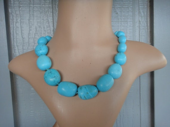 Statement Necklace Turquoise Turquoise Statement N