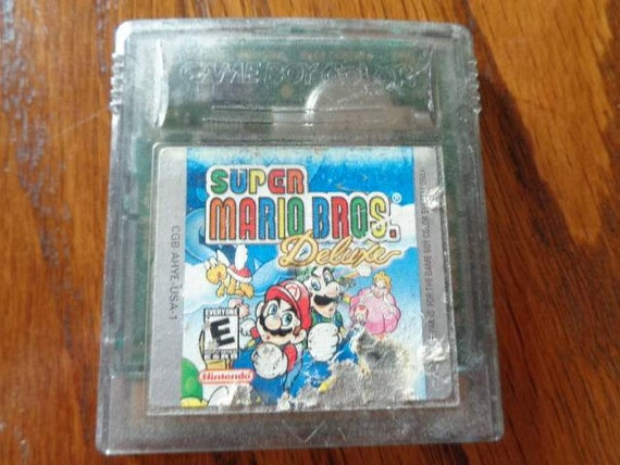super mario bros deluxe gameboy color