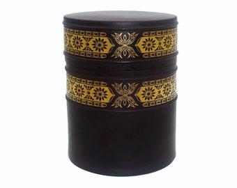 Opaque Matte Black Glass Curvy Square Spacers--9mm x 3mm--20 Pcs 41-104-10