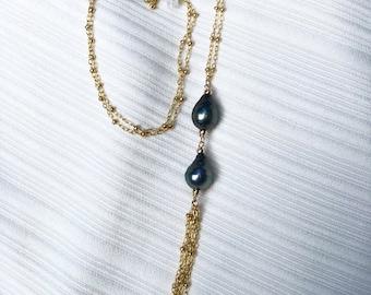 RTS Tahitian Tassel Necklace