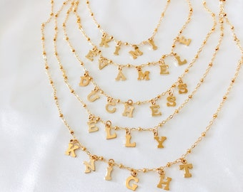 Create Your Own Letter Necklace