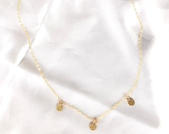 GRACE Coin Necklace