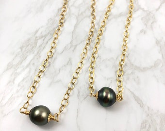 RTS Tahitian Pearl Necklace