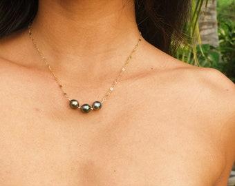 DEMI in Tahitian Pearls