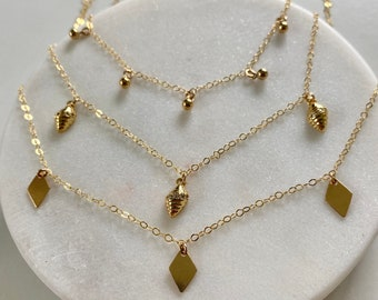 Charm Necklace Chokers