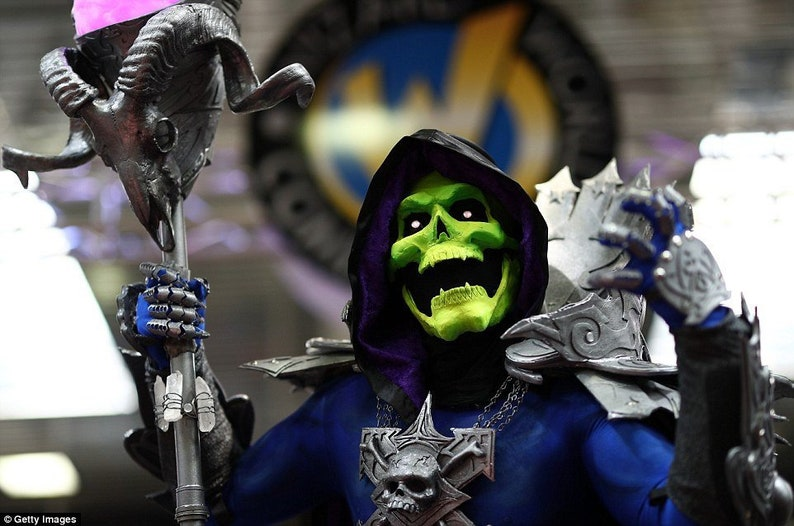 Skeletor masters of the universe Costume image 0