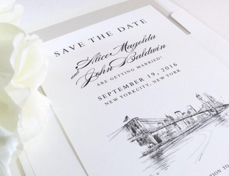 Disney World Inspired Save the Dates Fairytale Wedding Set of 25