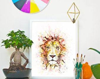 Cecil the Lion *Limited Edition Giclée Print on Watercolour Paper - 300gsm.
