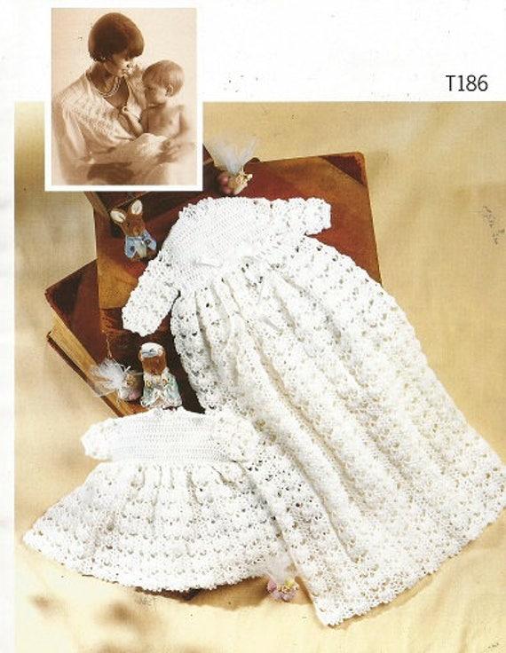 Crochet con PETER PAN patrón folleto Patchwork chal bebé | Etsy