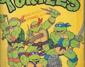 Vintage Butterick TEENAGE Mutant NINJA TURTLES Pattern - 5143 - All Sizes Included - Girls/Boys/Children's Paper Pattern For Playsuit/Uncut
