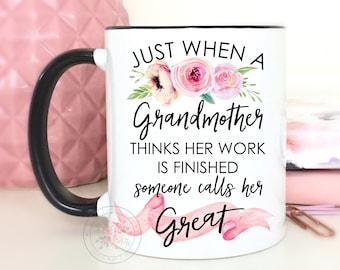 great grandma mug etsy