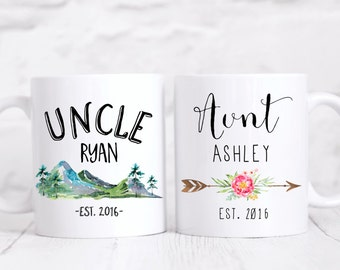 Personalized Aunt/Uncle Gift