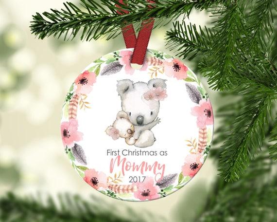 First Christmas.Mommy S First Christmas First Christmas As Mommy New Mom Ornament Mommy S First Christmas Ornament Christmas Ornament Ceramic Ornament