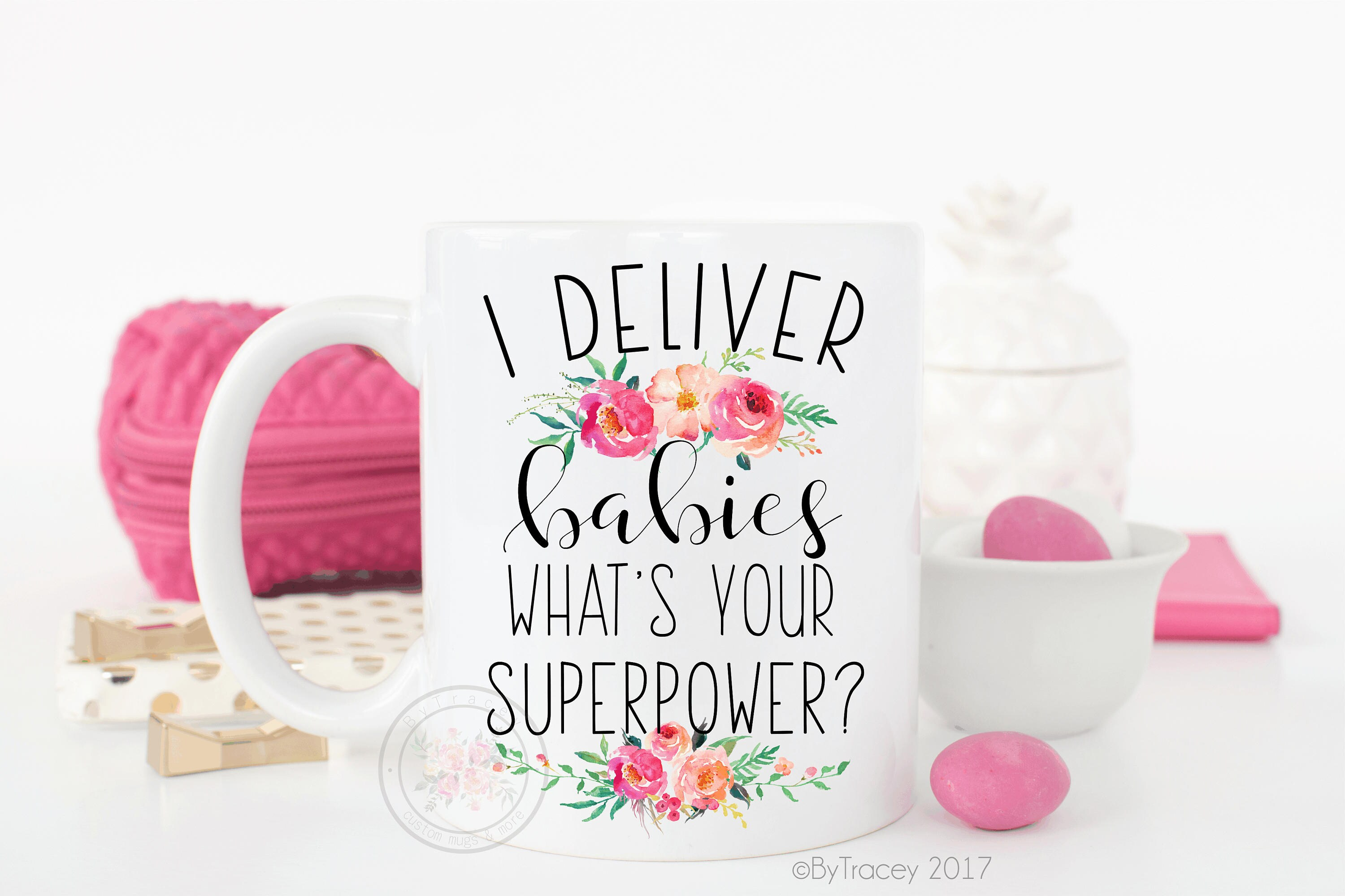 I Deliver Babies What S Your Superpower Ob Gyn Gift Etsy