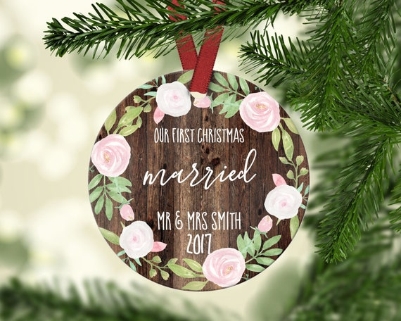 First Christmas Married