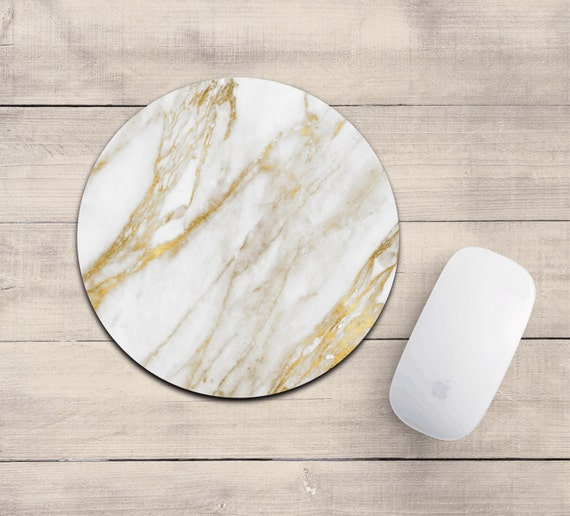 tapis de souris de marbre or blanc or marbre marbre tapis de. Black Bedroom Furniture Sets. Home Design Ideas