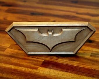 "Hardwood Bat Emblem (10""×4"")"