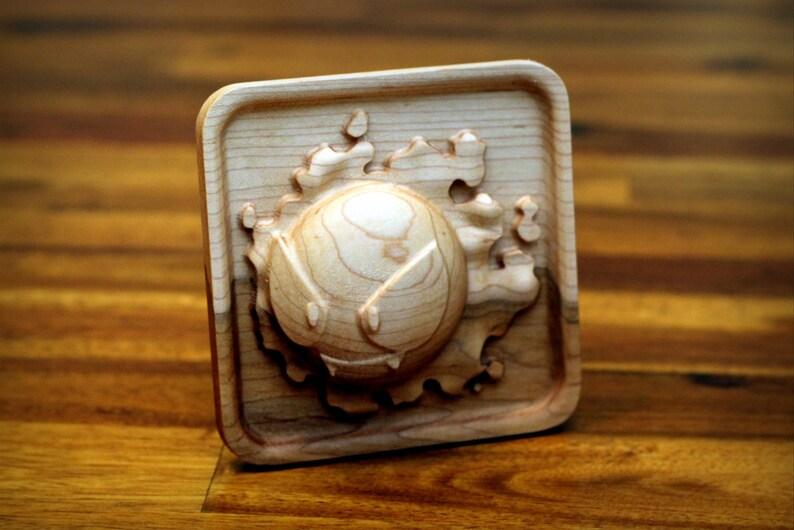 Hardwood Gastly 4x4 Framed image 0