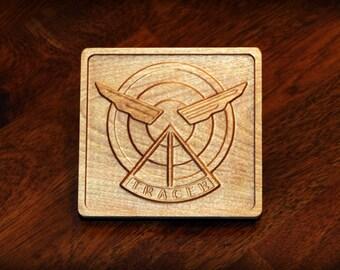 """Hardwood Tracer Emblem (5"""")"""