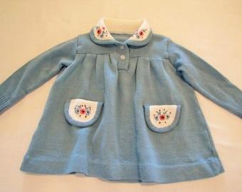 Childs Sweater Dress  Size 12 months