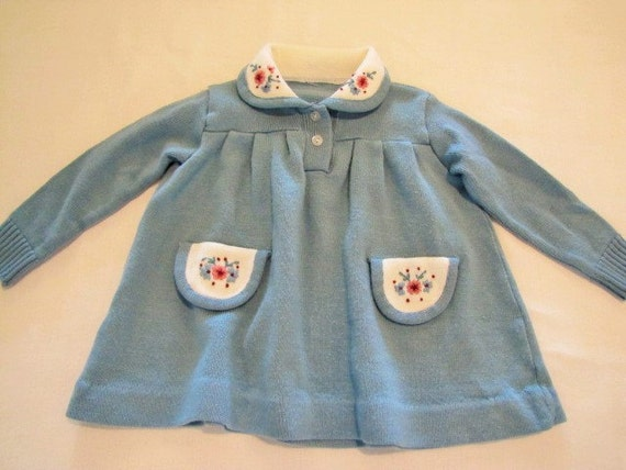 781c26802930 Childs Sweater Dress Size 12 months   Etsy
