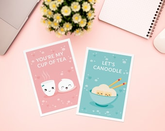 Greeting cards - valentines day - cute