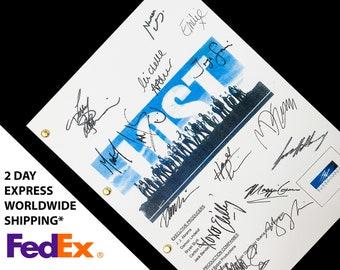 Lost TV Script Screenplay with Signatures Autographs Reprint - Matthew Fox, Evangeline Lilly, Jorge Garcia, Josh Holloway, Ian Somerhalder