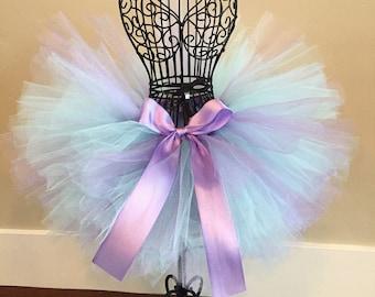 Purple and Blue Tutu, Lavender and Light Blue Tutu, Easter Tutu, Spring Tutu, Mermaid Tutu, Birthday Tutu, Baby Tutu, Infant Tutu, Toddler