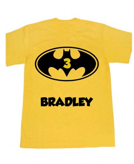 Batman Symbol Shirt Batman Birthday Batman Party Batman Etsy