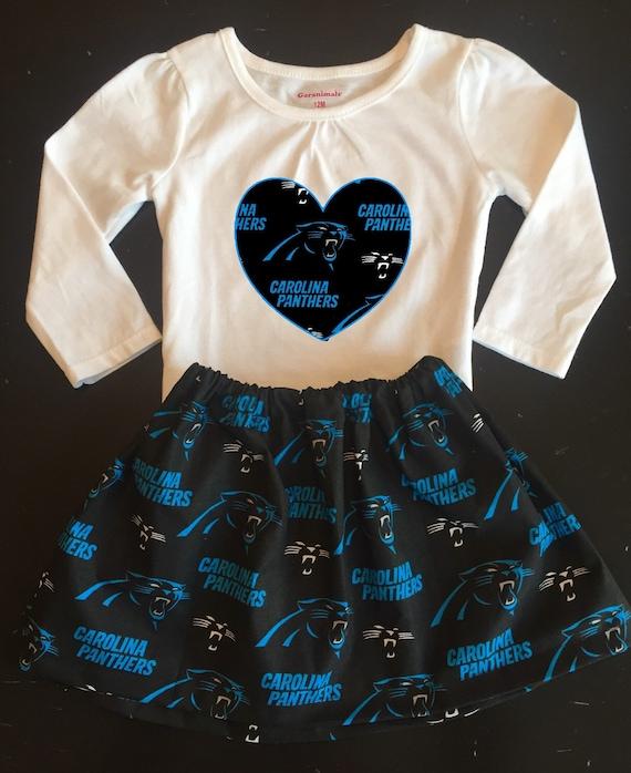 Carolina Panthers Girls Long Sleeved Outfit Carolina  82e07dd11