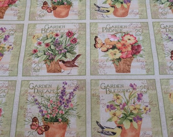 Garden Blessings Block, Susan Winget