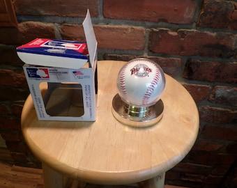 San Diego Team Logo Ball MLB Baseball 1997, Sports Products Corp, 1997 San Diego Padres Baseball, Sports Products Corp
