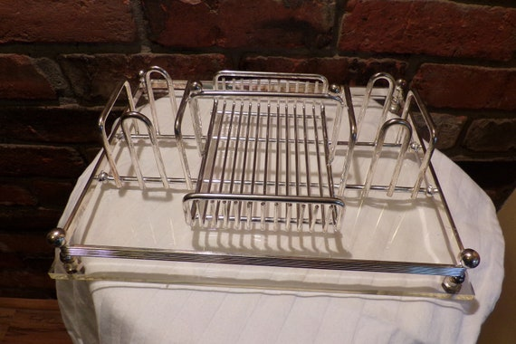 Vintage Oneida Silver Plated Silverware Caddy Silverware