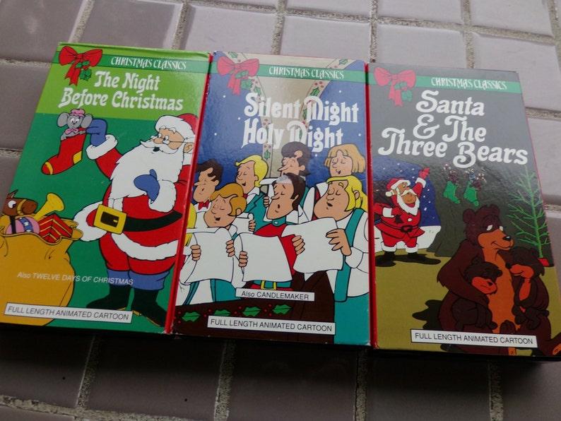 Christmas Vhs Christmas Movies Kids Christmas Movies Etsy