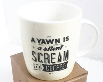 Silent Scream Mug